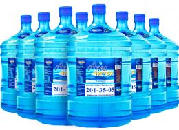 Доставка воды Аква чистая 8 бутылей по 19л.