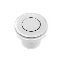 Кнопка включения FLAT хром