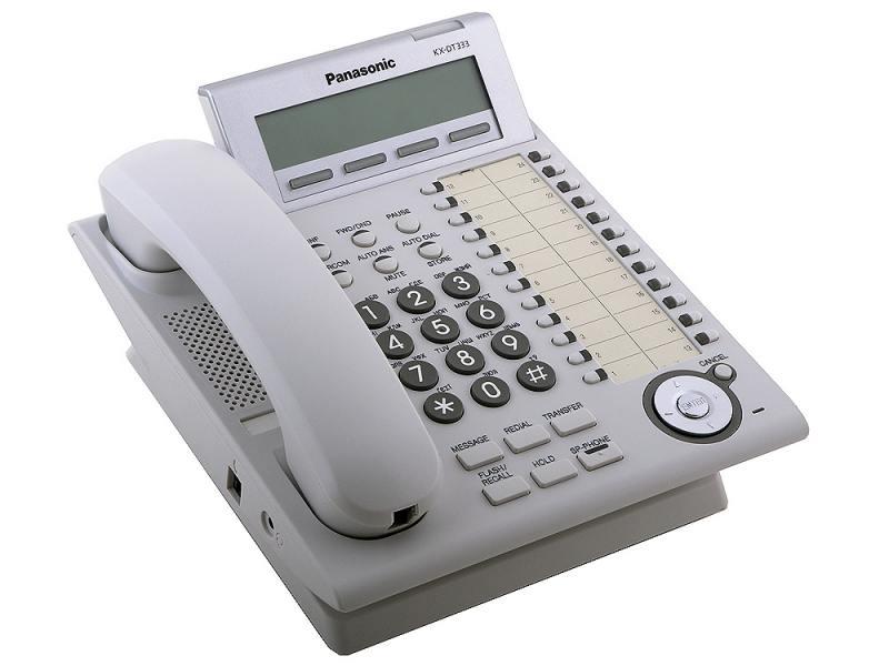 Cистемный телефон Panasonic KX-DT333RU