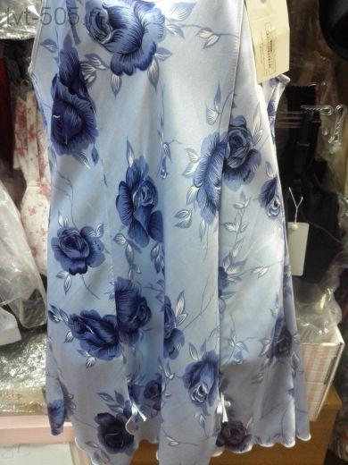 Сорочка (шелка Avals) голубая
