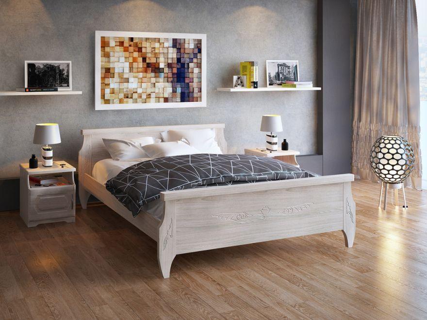 Кровать Ника (массив бука)   DreamLine
