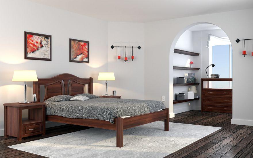 Кровать Авиньон (массив бука) | DreamLine