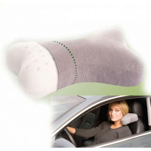 Тривес ТОП-210. Ортопедическая подушка для путешествий из латекса (Т.710)