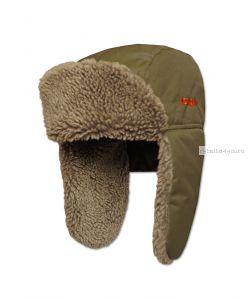 Шапка ушанка Kosadaka Arctic 2 мех овчина/ верх  хаки