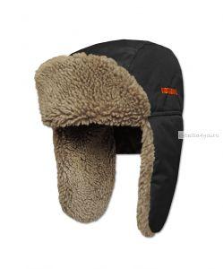 Шапка ушанка Kosadaka Arctic 2 мех овчина / верх черный