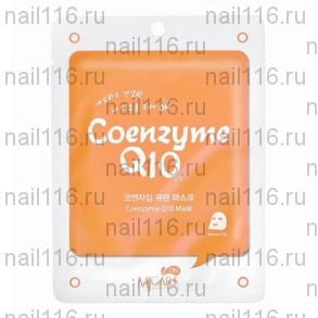 МЖ MJ CARE Маска тканевая с коэнзимом MJ on Coenzyme Q10 mask pack