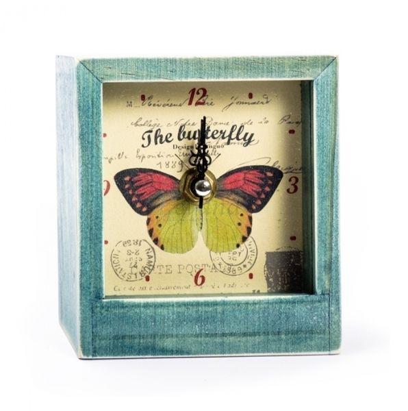 Настольные часы «Butterfly» - Yellow