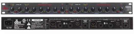 DBX 166XL 2-канальный компрессор / экспандер / гейт