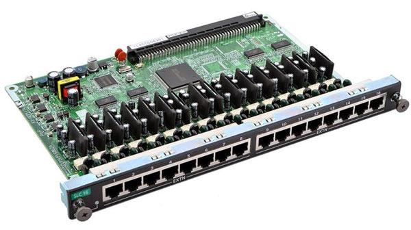 Карта Panasonic KX-NCP1174XJ (цифровая плата на 16 аналоговых внутренних портов)
