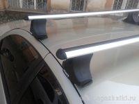 Багажник на крышу Nissan Maxima (2001-2005), Атлант, аэродинамические дуги