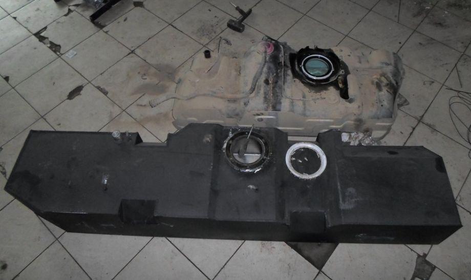 Топливный бак увеличенной емкости (стальной)
