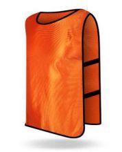Манишка футбольная детская оранжевая