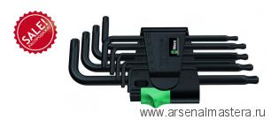 Набор Г-образных ключей, BlackLaser WERA 967 PKL/9 TORX