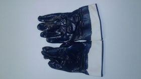 Перчатки маслобензостойкие крага