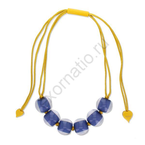 Колье Zsiska 4010120BP01Q06. Коллекция Clourful Beads 2