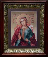 Мирослава Константинопольская (19х22), темный киот