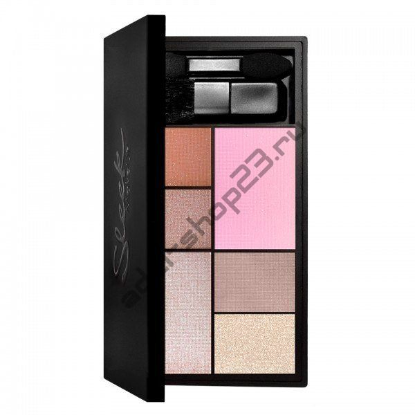 Sleek MakeUp - Набор из теней и румян Eye & Cheek Palette 030 All Day Sairee
