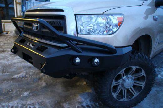 Силовой бампер передний (серия С) Toyota Tundra