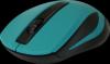 Беспроводная оптическая мышь MM-605 зеленый,3 кнопки,1200dpi