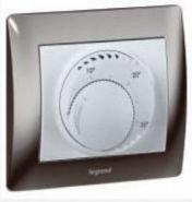 Термостат Legrand с Н3 контактом и индикатором LED Бронза(арт.775692)
