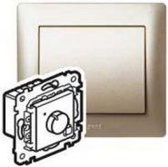 Термостат с дисплеем PLC Galea Life Перламутр (арт.771594)