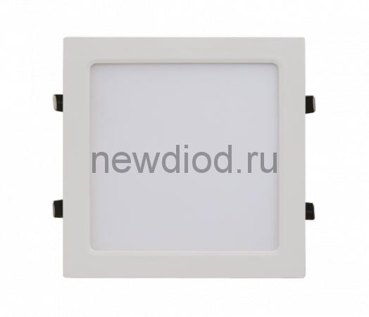 Панель сд квадратная SLP-eco 6Вт 230В 4000К 420Лм 108х108х23мм белая IP40