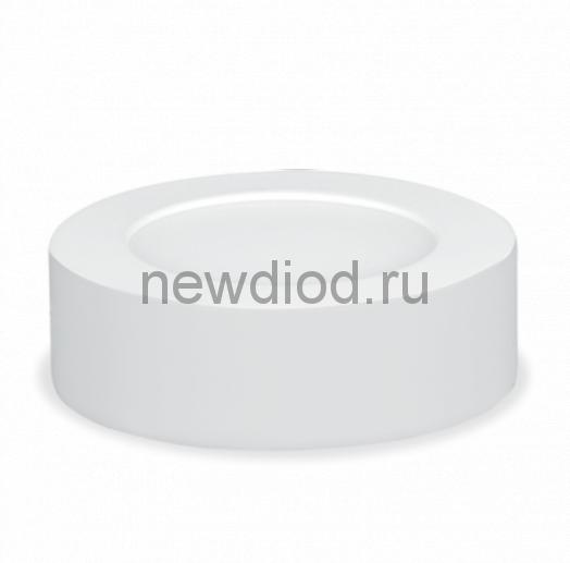 Панель сд круглая NRLP-eco 6Вт 230В 4000К 420Лм 120мм белая накладная IP40 IN HOME