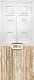 """Фон """"White door"""" 3,5x1,5 м"""