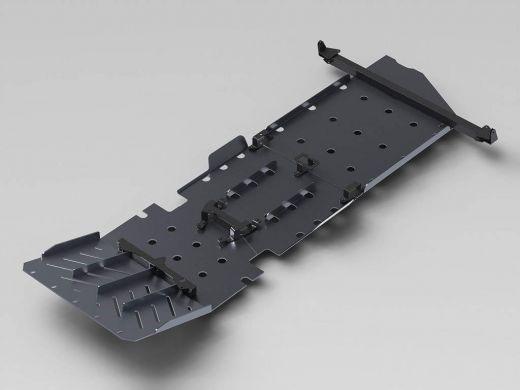 Защита радиатора, поддона ДВС, раздаточной коробки и КПП Toyota Tundra силовая
