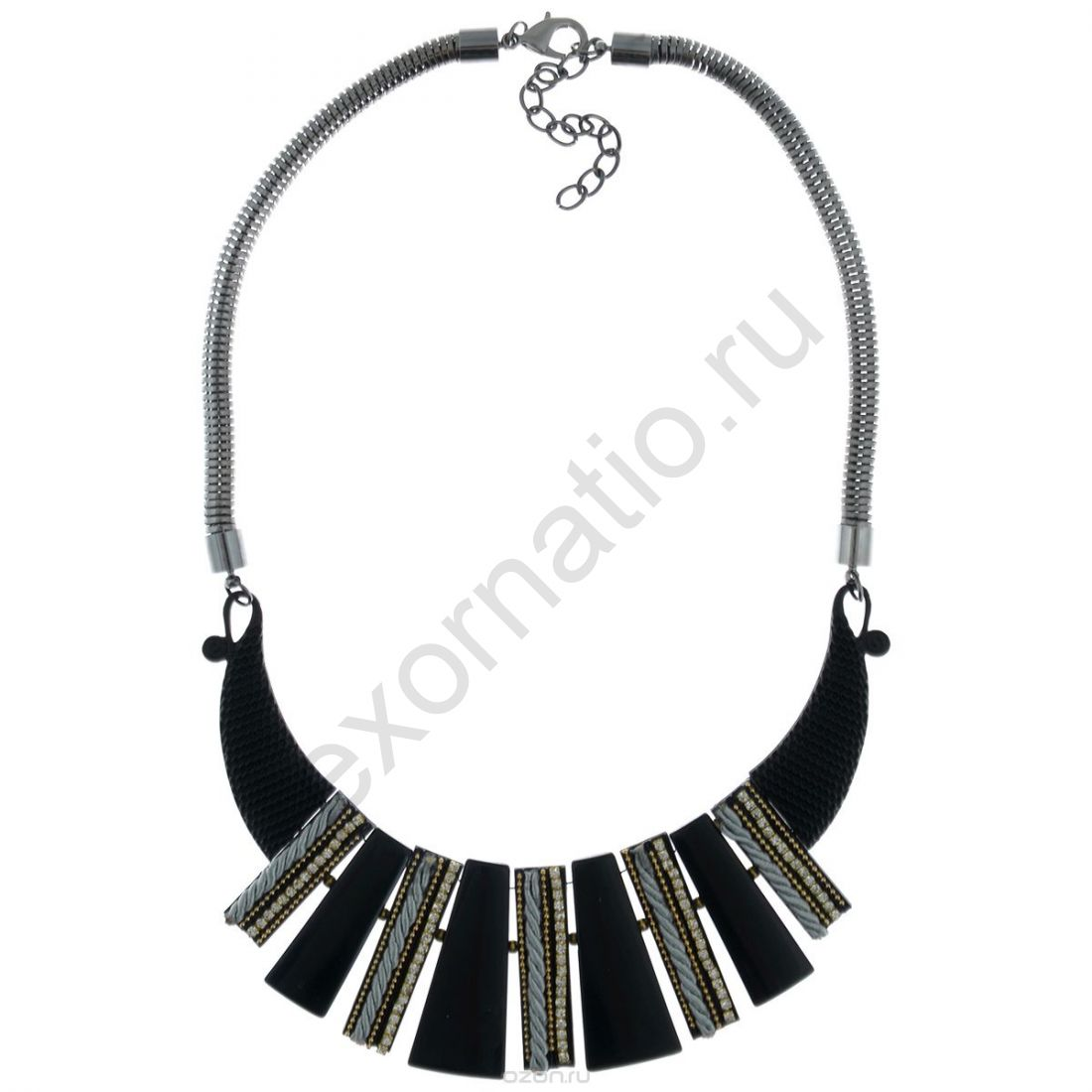 Колье Taya LX. T-B-7555-NECK-BlACK