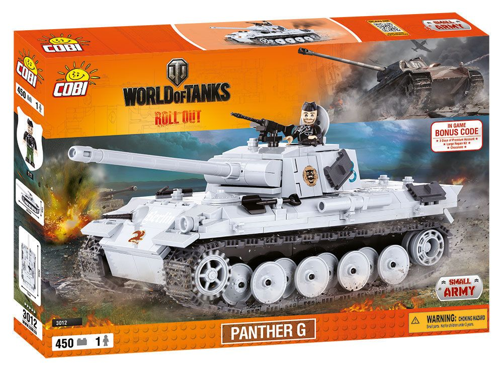 КОБИ  World of Tanks - Танк Panther G COBI-3012