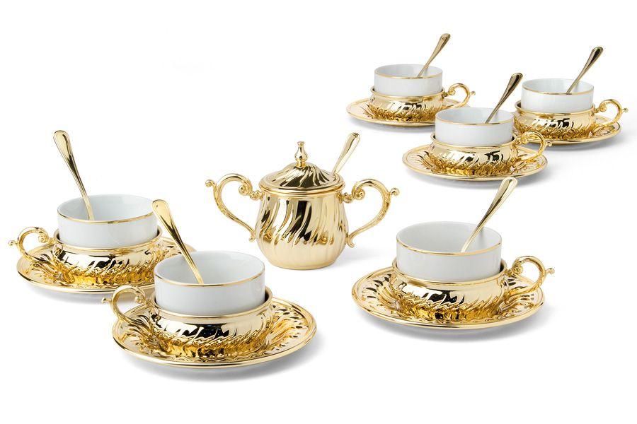 """Чайный набор на 6 персон """"Stradivari"""""""