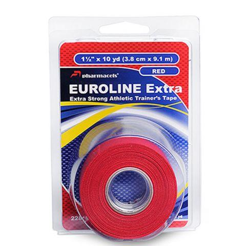 Тейп pharmacels Euroline extra 3.8см х 9,1 красн