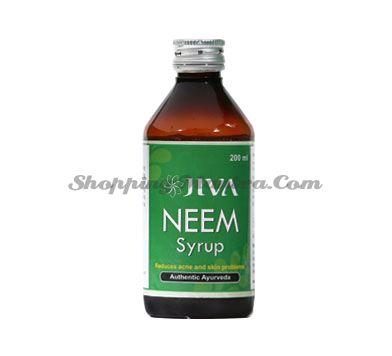 Сироп Ним для очищения крови Джива Аюрведа   Jiva Ayurveda Neem Syrup