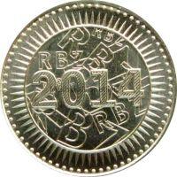 Зимбабве 10 центов 2014 г.