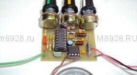 Радиоконструктор № 004, Радиоприёмник на ТА8164Р с УНЧ на TDA7052