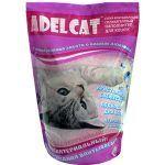 Наполнитель Adel Cat силикагелевый с розовыми гранулами, для кошек