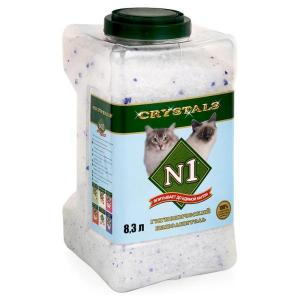 Наполнитель для кошки N1 силикагелевый колба 8.3л