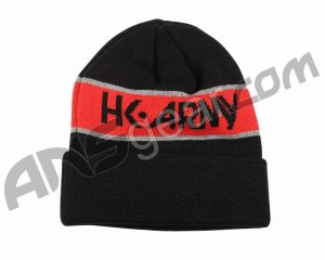 Шапка HK Army Beanie - Black/Red