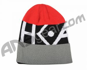 Шапка HK Army Beanie - Red/Grey/Black