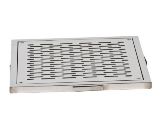 "Слив донный квадратный сетчатый XenoZone 250х250х120 2,5""(внутр.) пленка"