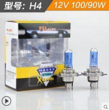 Лампа галогеновая  H4  12V 55W 4300K (2 шт)