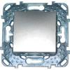 Двухполюсный однокл. выкл. Unica Top 16A цвет Алюминий