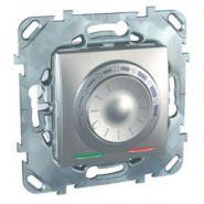 Терморегулятор Unica для теплых полов с датчиком пола Алюминий