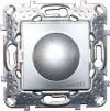 Диммер поворотный Unica Top 40-1000VA перекл. цвет Алюминий