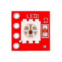 Светодиодный модуль - WS2812 1bit RGB, 1 светодиод