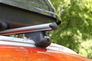 Багажник крыши, Atlant, на интегрированные рейлинги