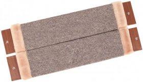 Ковролиновая когтеточка, угловая, для крепления на стену