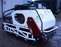 БТС-2 Стандарт 500/9 мотобуксировщик с двигателем lifan мощностью 9 л. с., с передним приводом, вариатором Сафари и электростартером