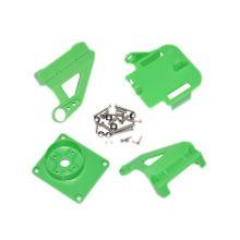 Кронштейн ABS для двух сервоприводов, цвет зеленый